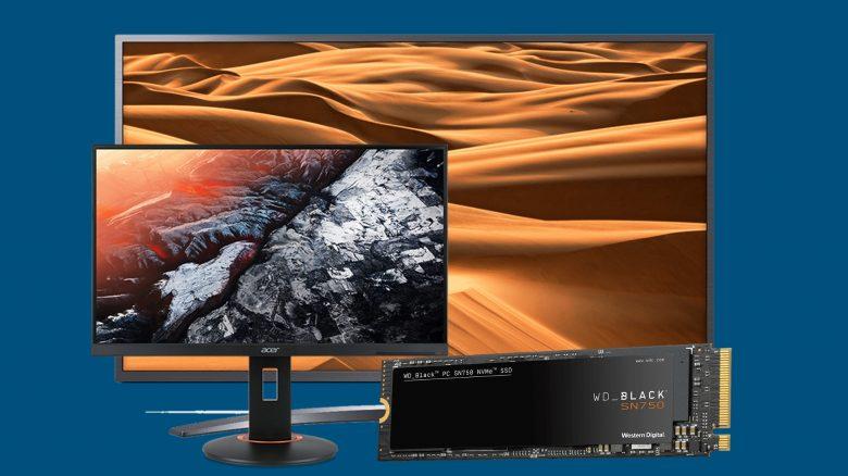 Günstiger Acer Gaming-Monitor, LG 4K-TV & mehr bei Cyberport reduziert