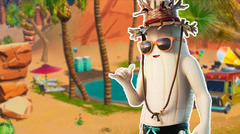 Für die heißen Sommer-Skins lässt in Fortnite eine Banane ihre Schale fallen