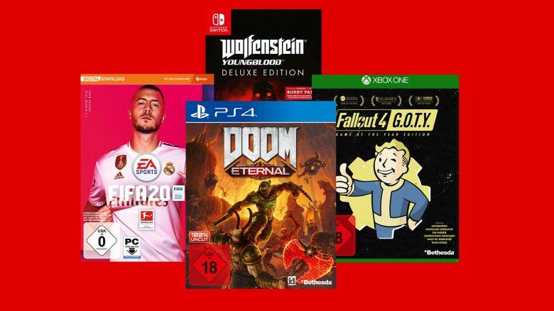 3 für 47,77 Euro: Aktion für PC, PS4, Xbox One und Switch bei MediaMarkt