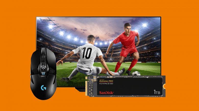 Top Gaming-Maus, LG OLED-TV, SSDs und mehr bei Saturn reduziert