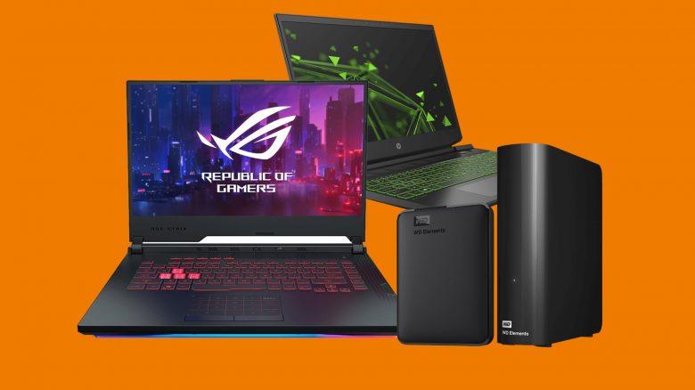 Gaming-Laptops, externe Festplatten und mehr reduziert bei Saturn