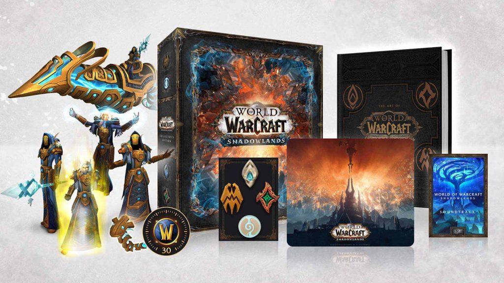 WoW Shadowlands Collector's Edition Inhalte