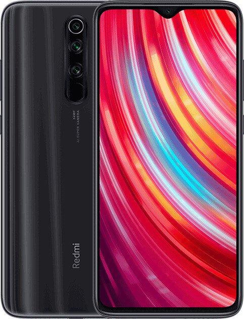 Xiaomi Redmi Note 8 Pro in Schwarz