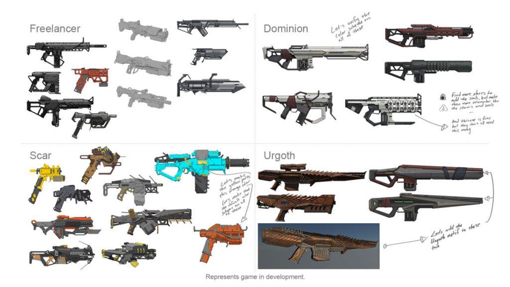 Anthem-Waffen