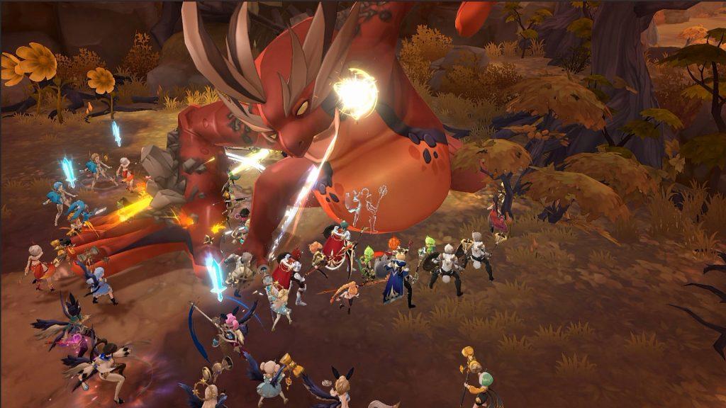 Battle_Field boss Summoners War Chronicles