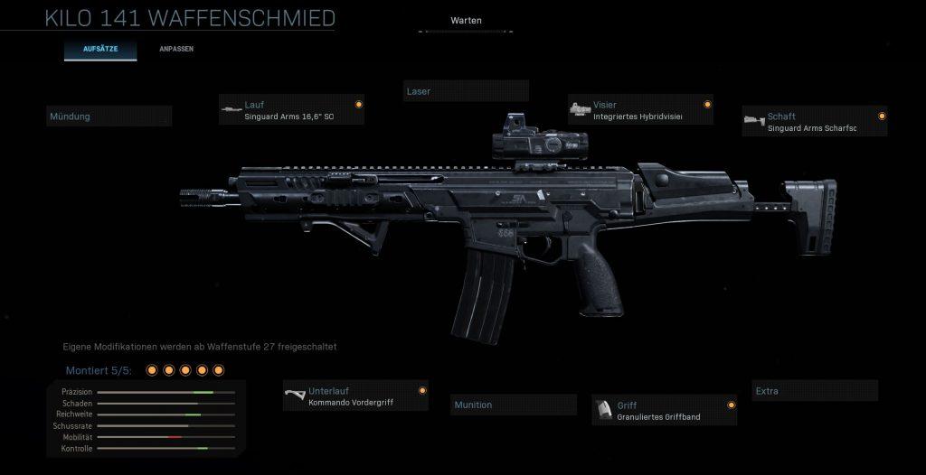 Call fo Duty Modern Warfare Warzone Midrange Kilo