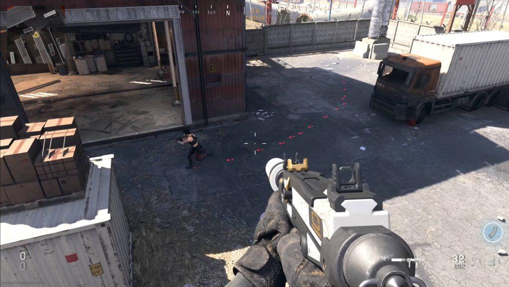 Call fo Duty Modern Warfare Warzone Trcker Fußspuren