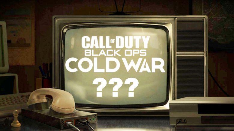 Ein Fernseher aus den 80ern ködert jetzt mit Infos zu Call of Duty 2020