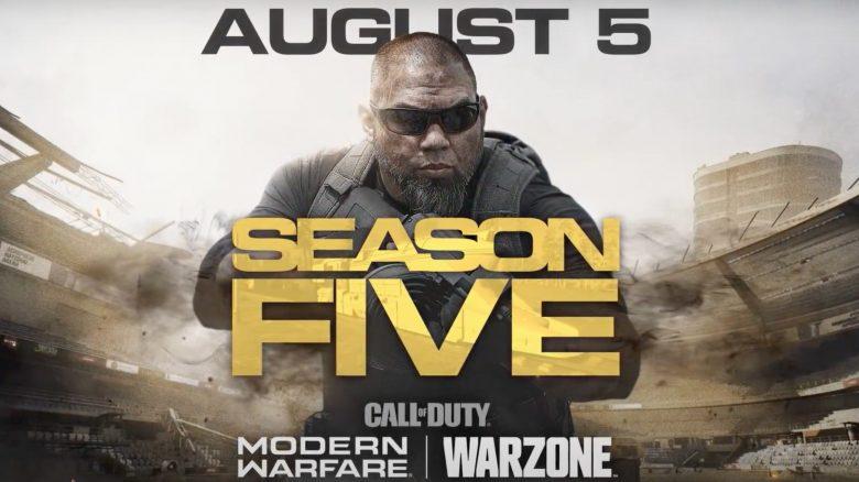 CoD MW Warzone s5 titel