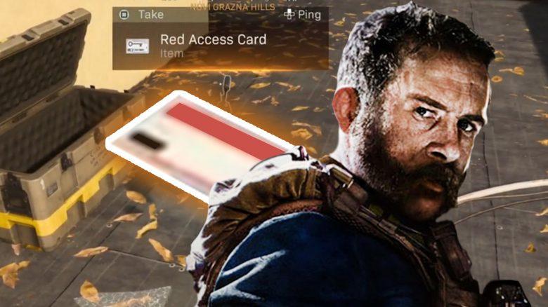 CoD Warzone Rote Zugangskarte Titel