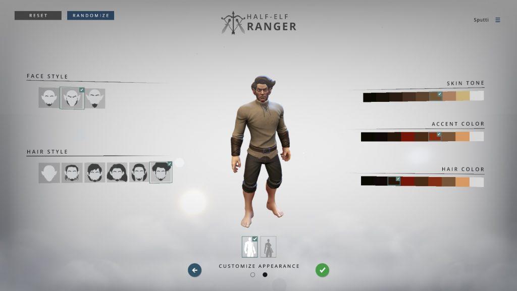 Crowfall-Charaktererstellung