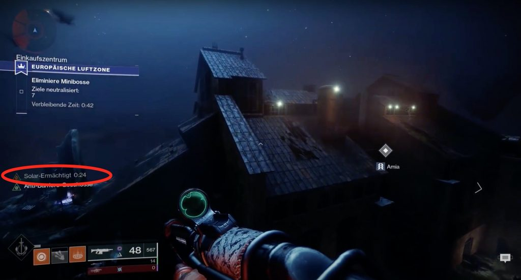 Destiny 2 Solar ermächtigt
