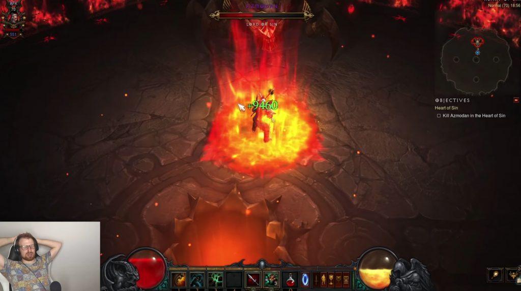 Diablo 3 Chitor Bosskampf AFK