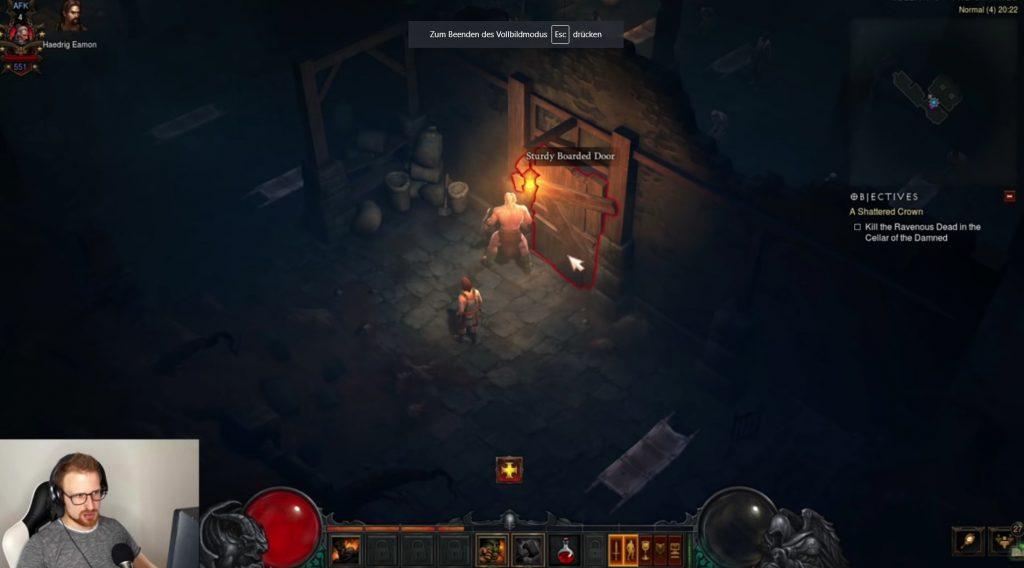 Diablo 3 Chitor Tür AFK