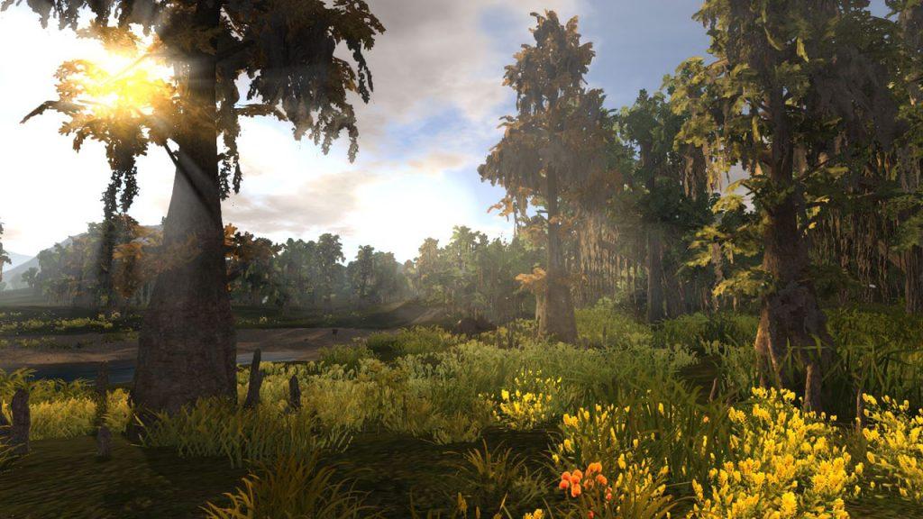 Empyrion hübscher Wald