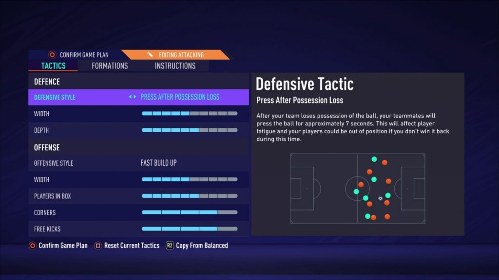 FIFA 21 Pro Club Taktik