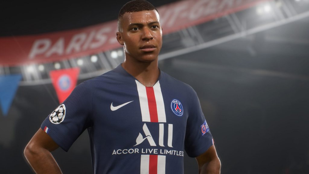 FIFA 21 Titel Mbappe Schwitzen