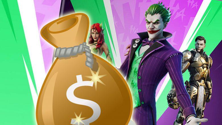 Fortnite will mit einem Skin-Bundle zum Joker 2020 das große Geld machen