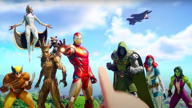 Fortnite Season 4: Trailer zeigt Marvel-Superhelden, Chaos und bösen Schurken