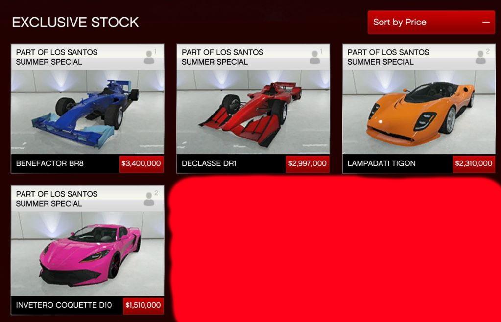 Summer Update GTA Autos