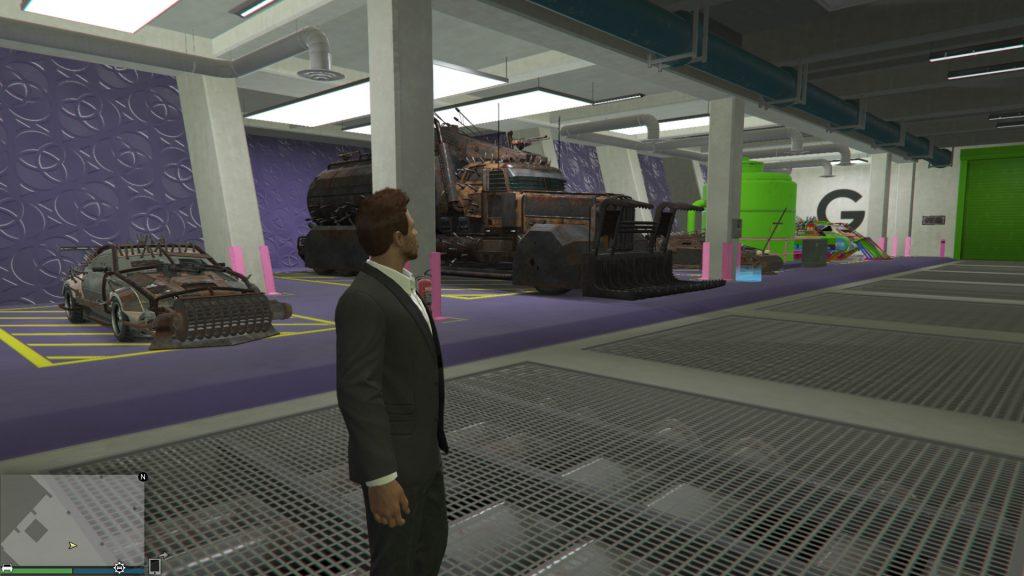 GTA Online Arenawerkstatt