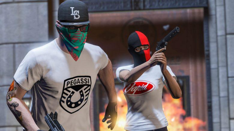 GTA Online Raub Titel