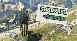 GTA Online: Schnappt euch jetzt über 100.000 GTA-Dollar in knapp 2 Minuten