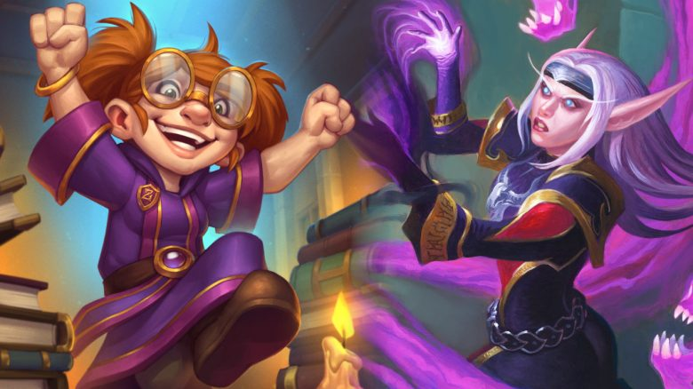 Hearthstone Gnome Cheer Soulcaster not so cheer title titel 1280x720