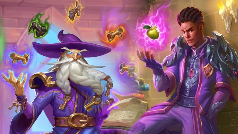 Hearthstone titel artwork scholomance guys mages 1280x720