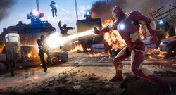 marvels avengers iron man action