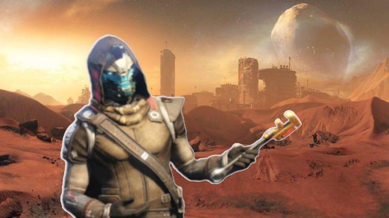 Mars Nachbau Caye Destiny Titel