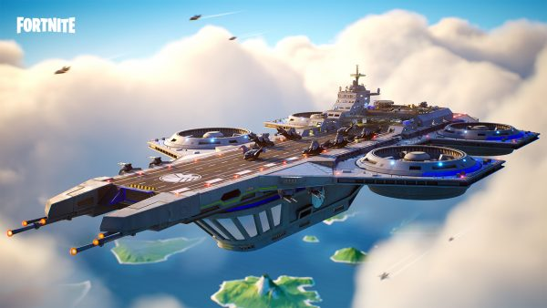 Marvel Helicarrier Fortnite