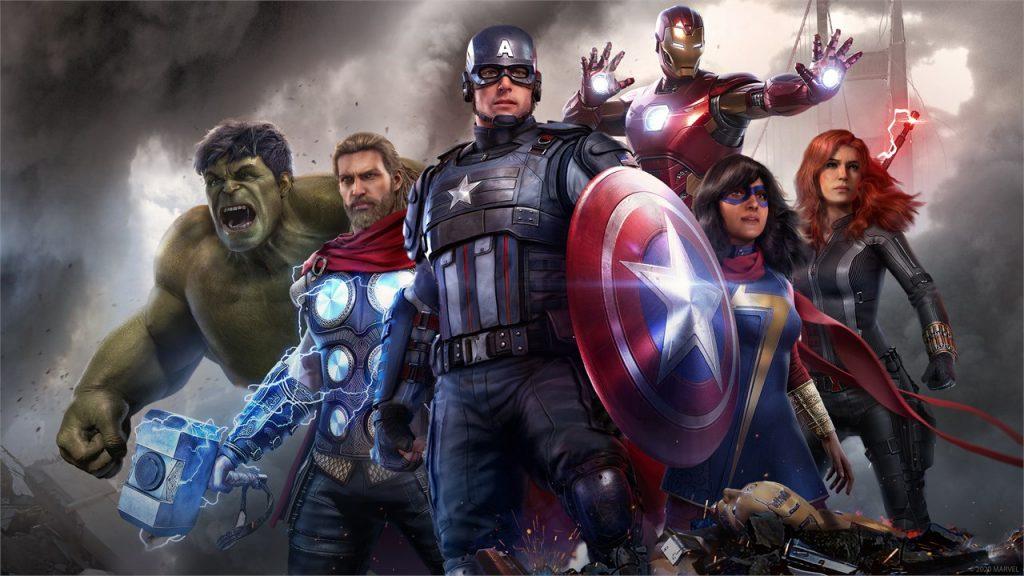 Marvels Avengers Helden