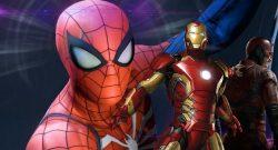 Marvels Avengers Spidermen ps4 exklusiv