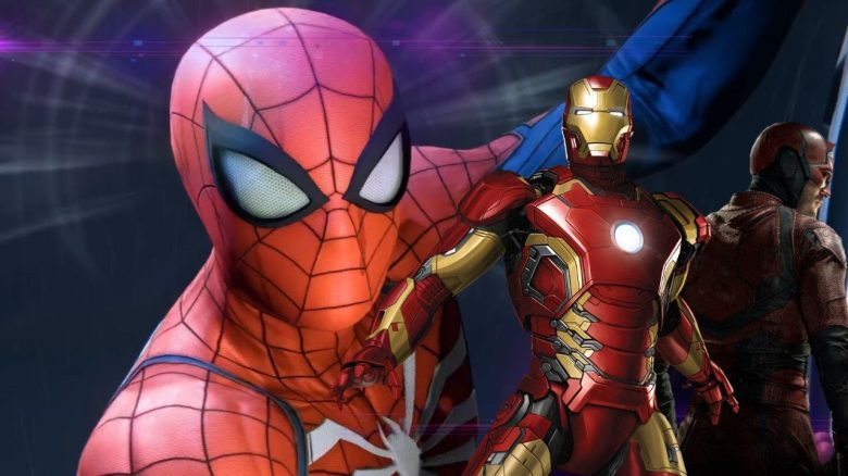 Marvels Avengers Spidermen ps4 exklusiv