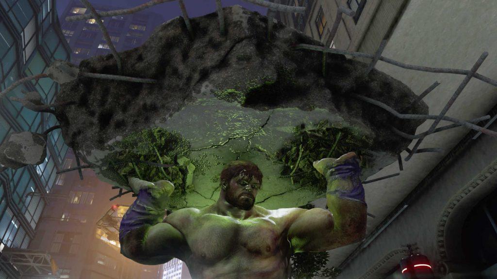 Marvels-Avengers-helden-hulk-fernkampf-brocken