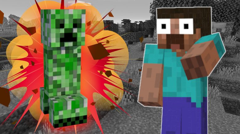Minecraft Creeper BAKURETSU LALALA Explosion titel title 1280x720