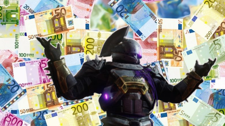 Money Euro Saint 14 Destiny Titel