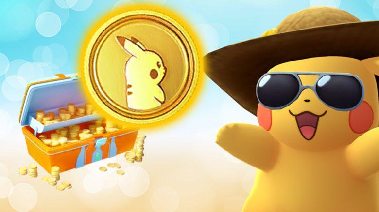 Pokémon GO Pikachu Münze Titel Münzsystem