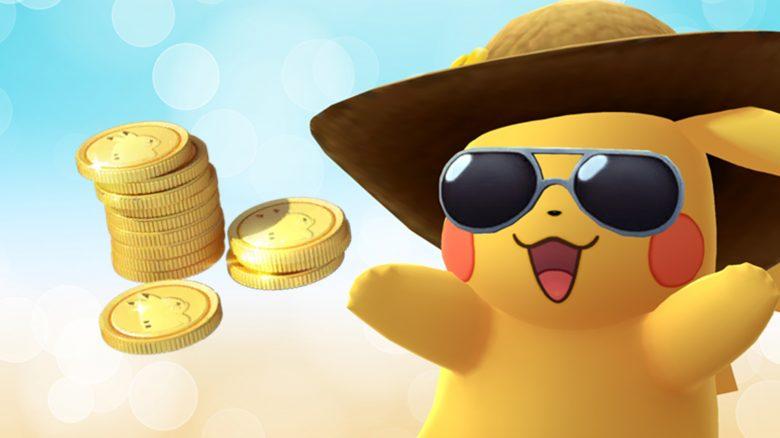 Pokémon GO Pikachu Münzen Titel
