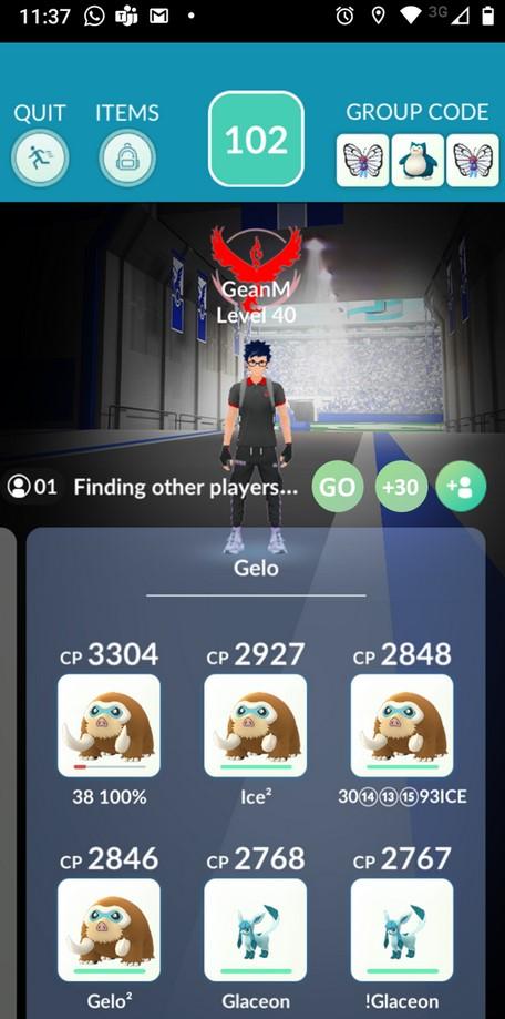 Pokémon GO Raid Konzept