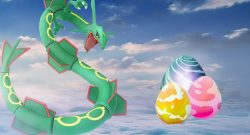 Pokémon GO Rayquaza Raid Eier Titel