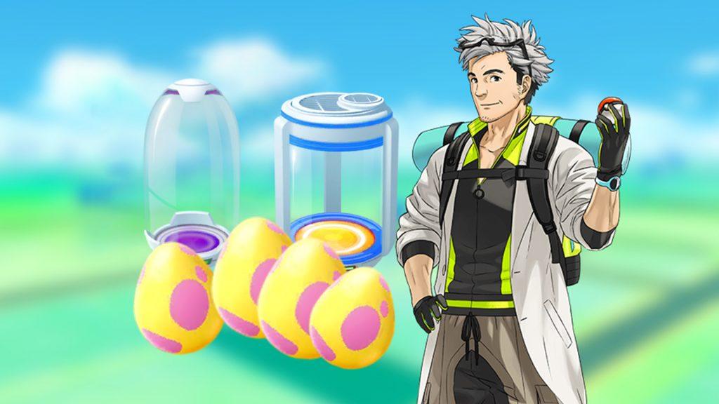 Pokémon GO Willow Eier Inkubator Titel