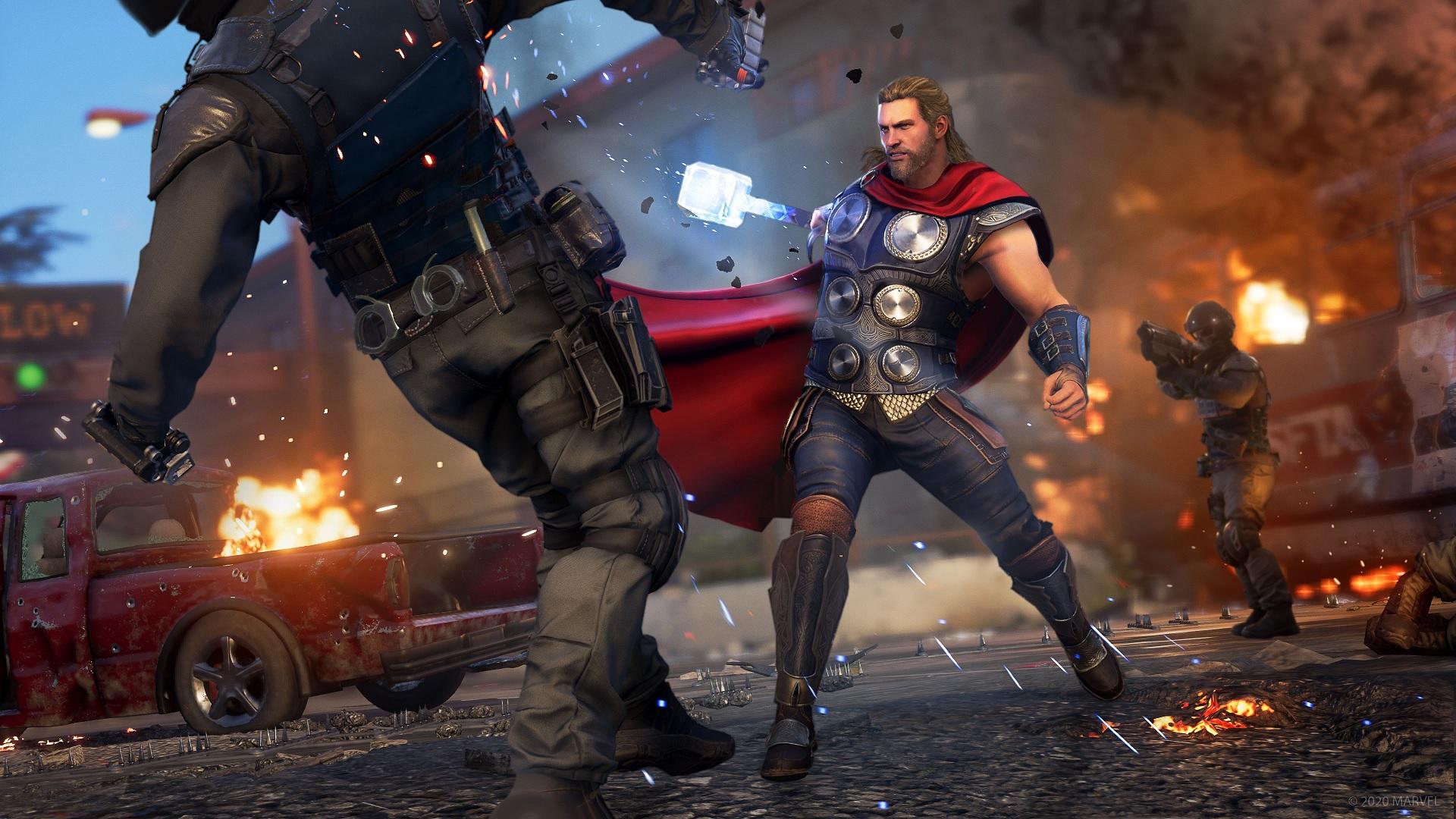 Marvel's Avengers: Die Beta lässt es krachen, aber wo ist ...