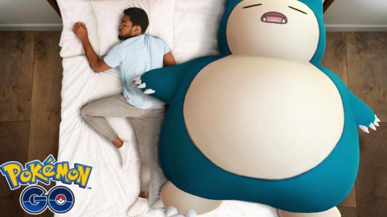 Relaxo schlafen Pokemon GO