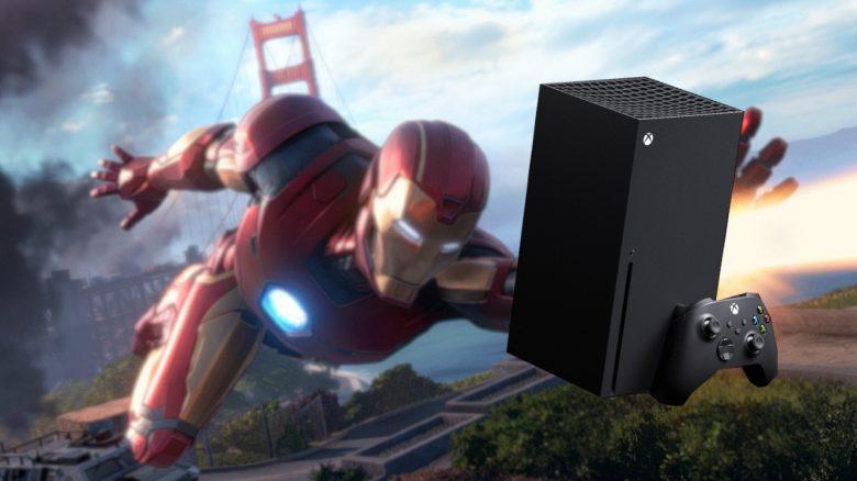 Titelbild Xbox Series X und Marvel's Avengers