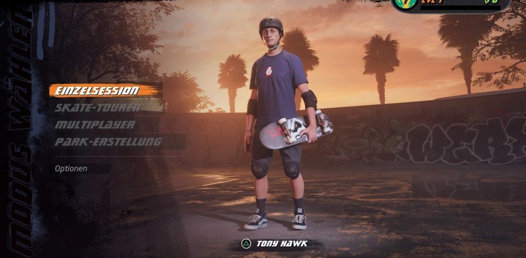 THPS Skaterwahl