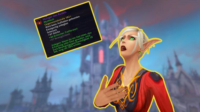 WoW: Item aus Legion ist kurz leicht zu kriegen, ideal zum Leveln in Shadowlands