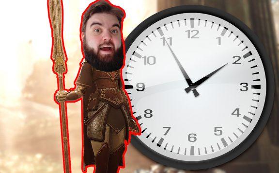 Warhammer Vermintide 2 Kerillian Benedict mit Uhr ohne Text Titel