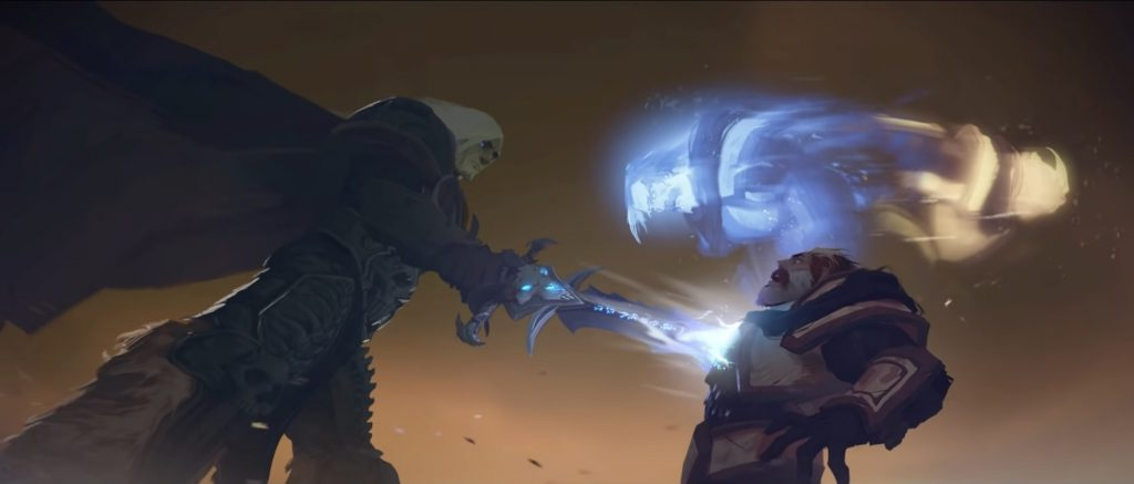 WoW Bastion Uther Soul Torn apart